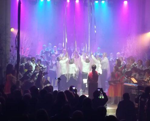 Eclairage - Concert de Noël - La Mandolaine