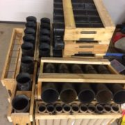 Préparation des mortiers - feux d'artifice - Lorraine