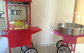 Machines à Pop-corn et Barbe à papa